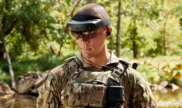 The Army is already using its next-generation head-up display to do battle with COVID-19