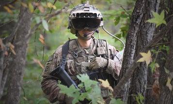 Army Integrated Visual Augmentation System (IVAS) training