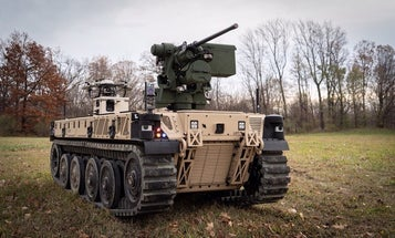 The Army just got its hands on a robot .50 cal to play with