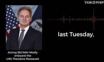 AUDIO: Acting Navy Secretary Thomas Modly addresses crew of USS Theodore Roosevelt