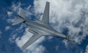 The US sent B-1B Lancers across Europe and the Pacific on the same day in a synchronized show of force
