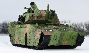 A few lucky soldiers are about to get their hands on a new light tank for testing