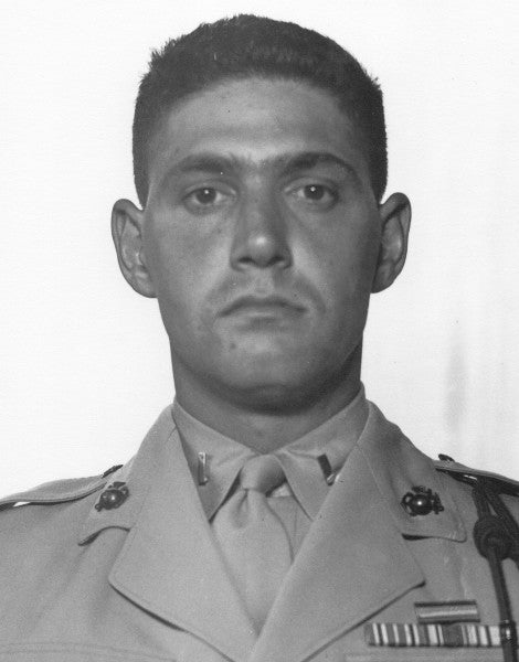 70 years ago, this Medal of Honor recipient sacrificed himself to save his fellow Marines