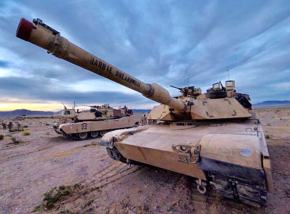 We salute the Army crew that named their tank 'Barbie Dreamhouse'