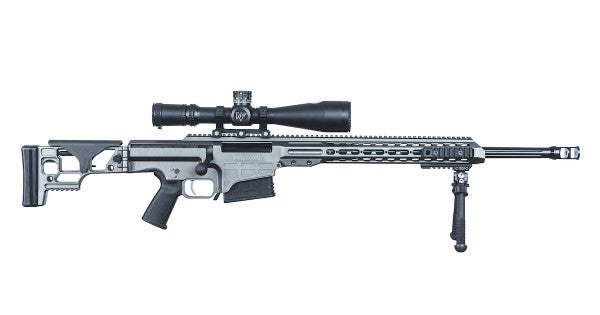 Barrett's bolt-action Multi-Role Adaptive Design (MRAD) system