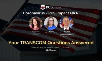 PCS Q&A with TRANSCOM