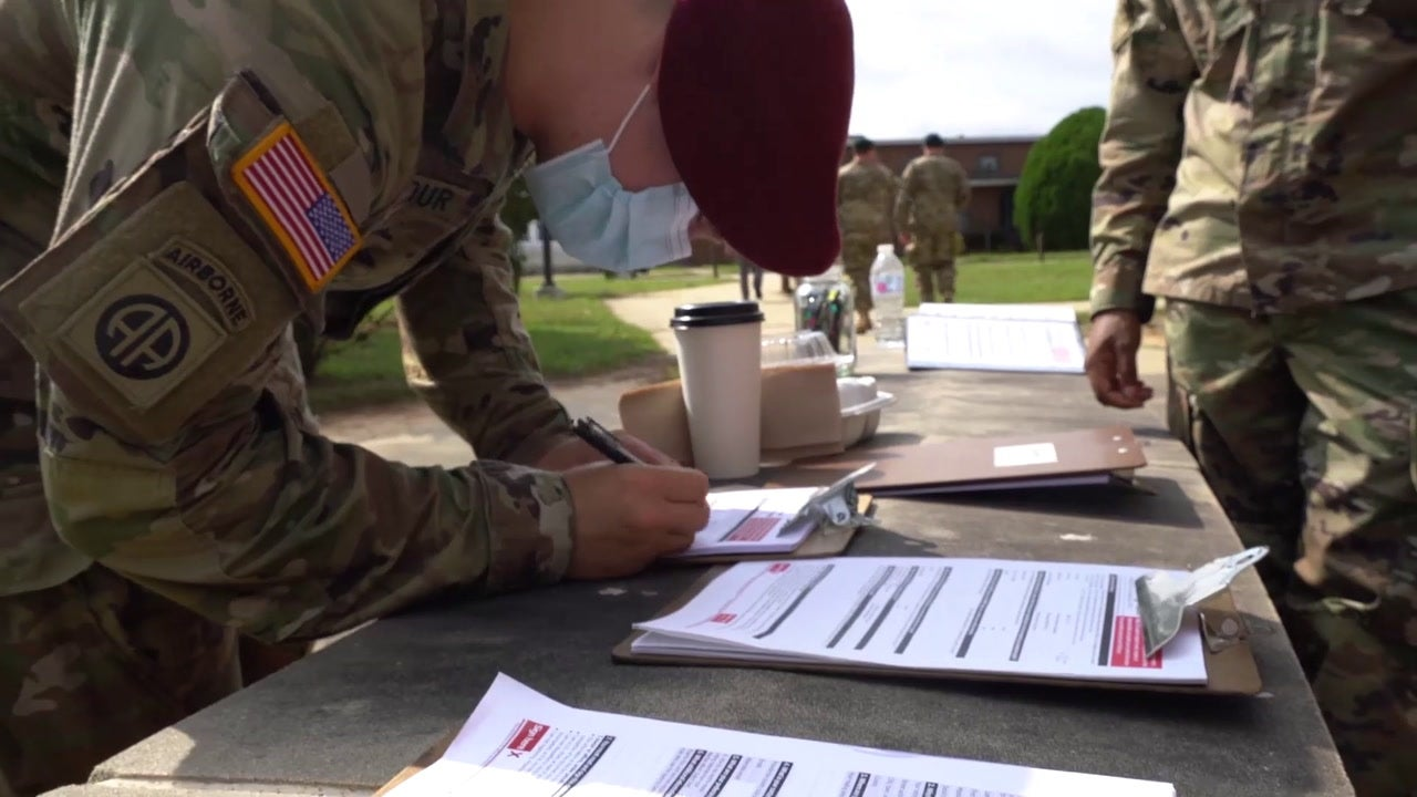 Boots to Ballots: Registering Soldiers to Vote