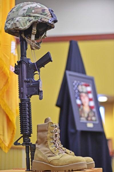 Spc. Vanessa Guillén's Soldier's Cross