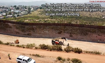 Border Wall Receives Military Funding