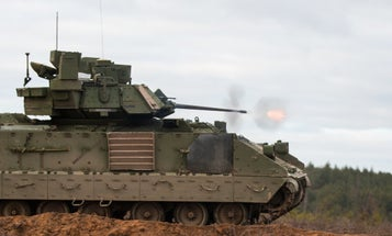 The Army is testing a new hybrid electric engine on the Bradley Fighting Vehicle