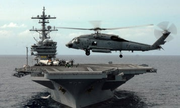 Sailors from the USS George H.W. Bush have COVID-19. The Navy won't say how many