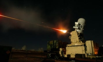 Rocket intercepted before it could hit Baghdad's Green Zone
