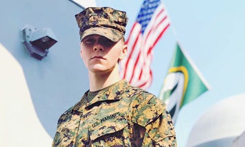 Marine Corps boots infantryman investigated for sharing alleged white supremacist material