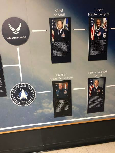 We salute whoever made Steve Carell head of Space Force at the Air Force museum