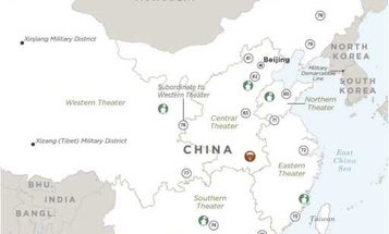 Newly-released Pentagon maps reveal the limits of China's growing military power