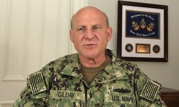 CNO speaks out on racism and George Floyd