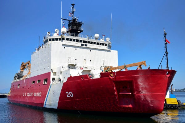A fire has hobbled one of the Coast Guard's only functioning icebreakers