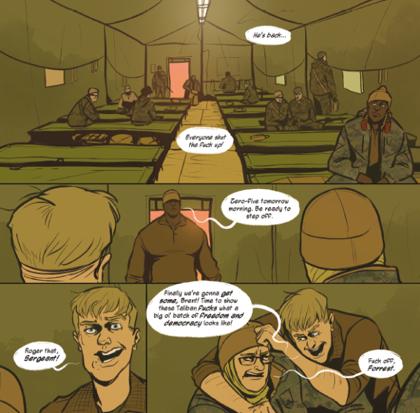 Terminal Lance creator's new Afghan War graphic novel gives us 'Conan the Barbarian' in Marine camouflage