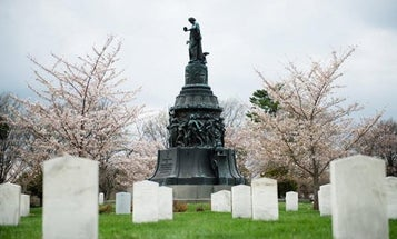 The Army is reviewing the Confederate Memorial featuring slaves at Arlington National Cemetery