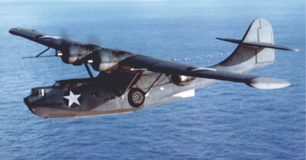 Historic Pearl Harbor PBY Catalinas to fly again for 75th anniversary of the end of World War II