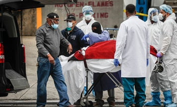 The Pentagon is seeking 100,000 body bags for civilians in COVID-19 pandemic