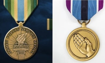 Pentagon authorizes two awards for troops involved in COVID-19 response