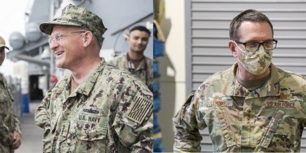 Chief of Naval Operations quarantined; head of National Guard tests positive for COVID-19
