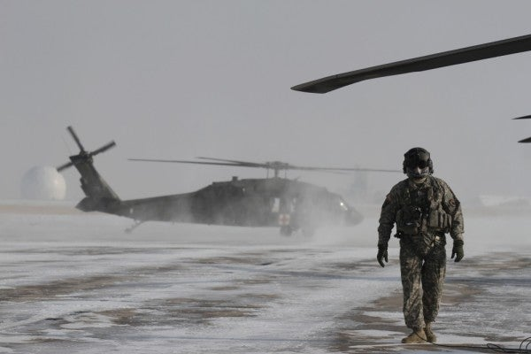 'It's like our warpaint'— Why some Black Hawk crew chiefs paint their face masks something fierce