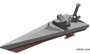 DARPA's next robot warship looks suspiciously like an Imperial Star Destroyer