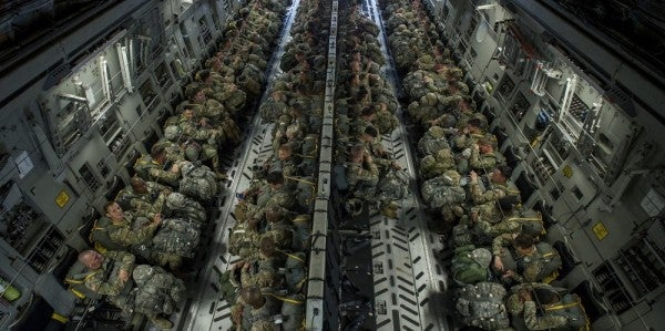 Paratroopers with the 82nd Airborne Division are leaving the D.C. region – for real this time