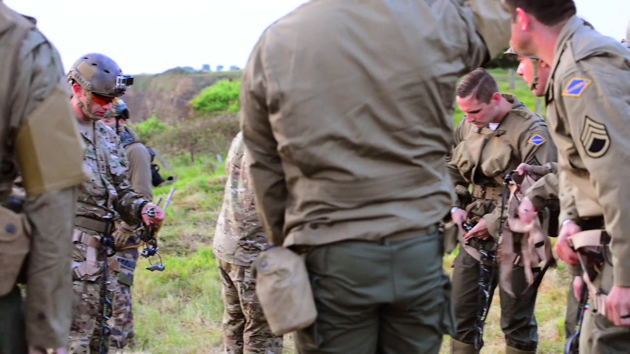 75 years after D-Day, current Army Rangers return to Pointe du Hoc