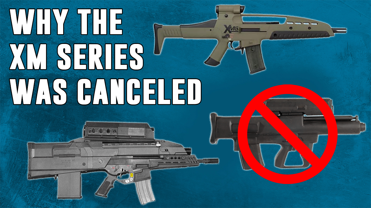 Why was the Army's XM-8 Future Weapon Series Canceled?
