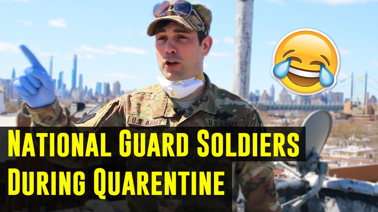 Humor: Every National Guard soldier during quarantine