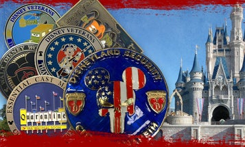 Disney security guards have freaking challenge coins and we have to talk about it