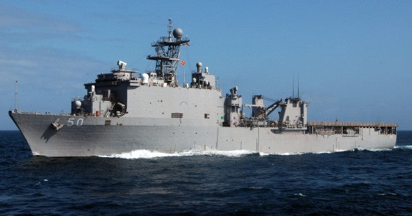 The Navy is facing yet another COVID-19 outbreak aboard a warship