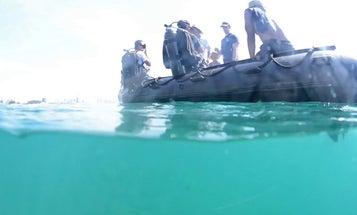 Vietnam underwater mine removal