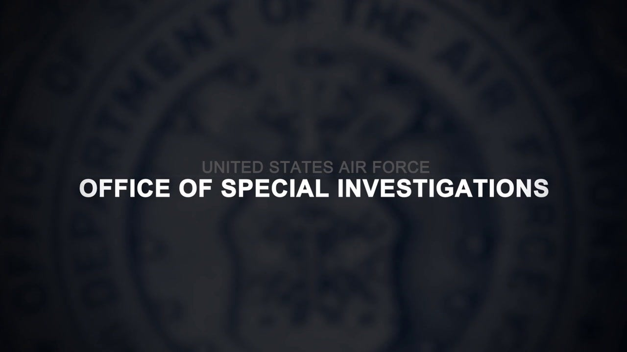 Air Force Office of Special Investigations Command Overview