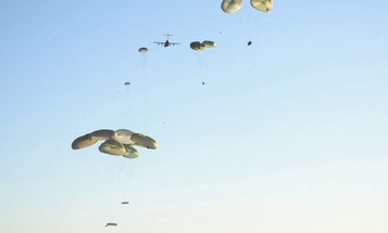 82nd Airborne Drops Into Latvia