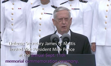 DoD leaders host vice president for ceremony at National 9/11 Pentagon Memorial in 2019