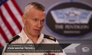 Army Command Sgt. Maj. on the important of bystander intervention