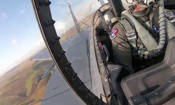 F-15 Cockpit GoPro B-roll
