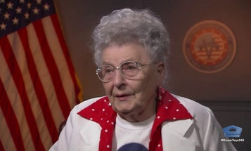 Profile of Mae Krier, original 'Rosie the Riveter'