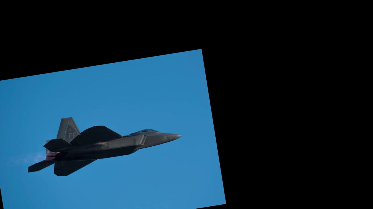 F-22 Photo Animation Loop