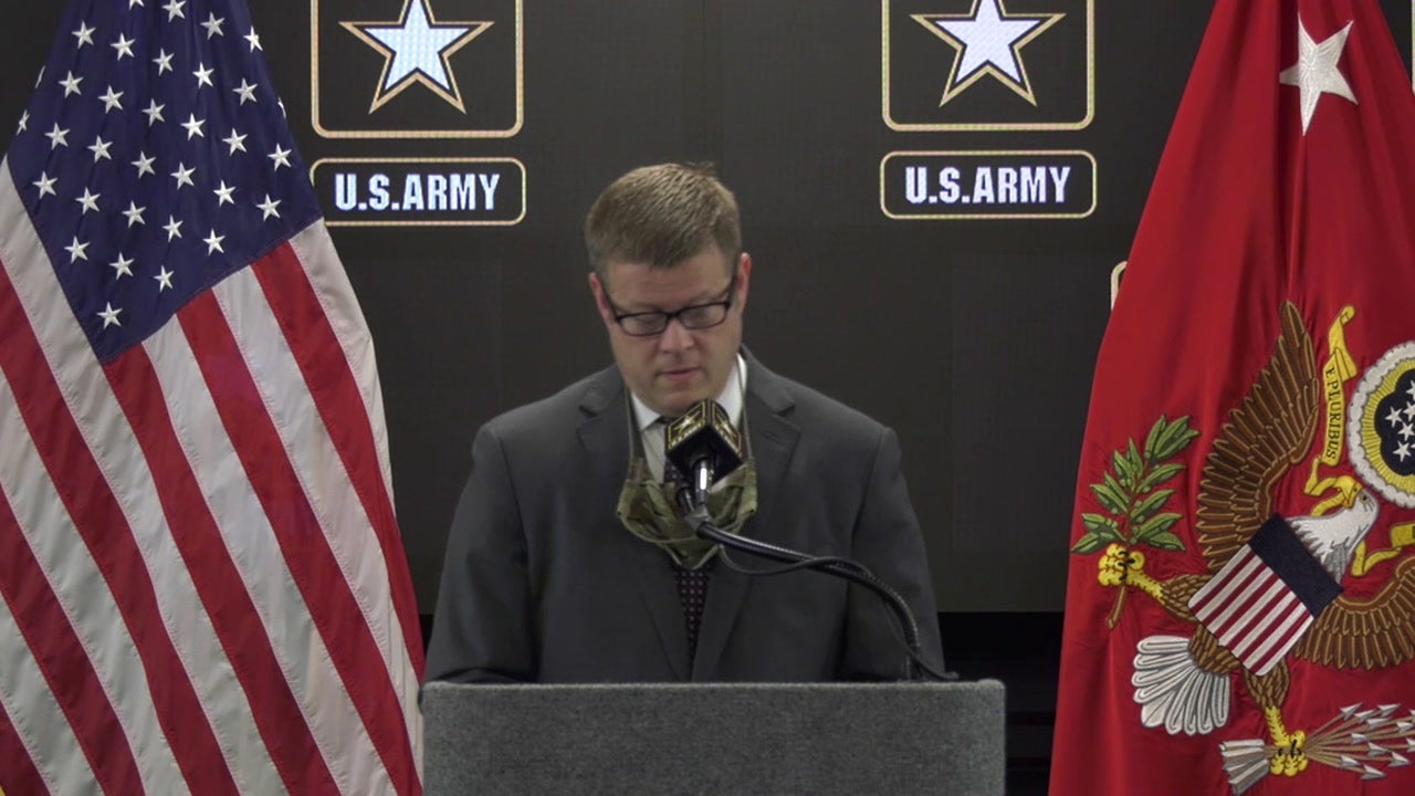 Army Secretary Ryan McCarthy addresses recent events at Fort Hood