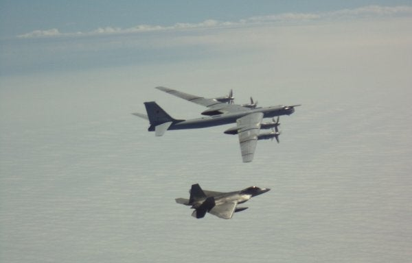 US fighter jets intercept 2 Russian bomber formations near Alaska