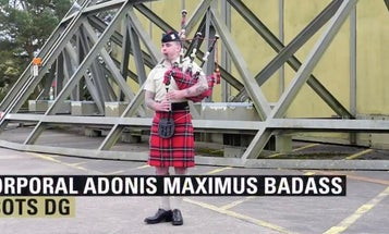 Meet Cpl. Adonis Maximus Badass, the Brit soldier with the best name in military history