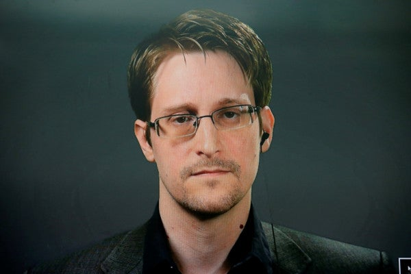 Trump says he is considering a pardon for NSA leaker Edward Snowden