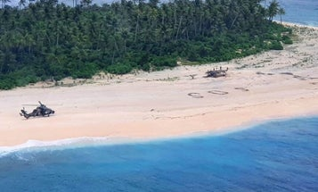 What it's like to rescue three mariners stranded on a desert island