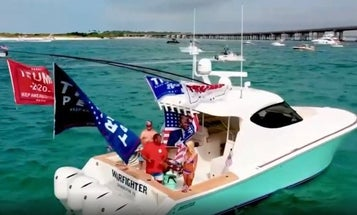 Feds say wounded Air Force vet used 'We Build The Wall' funds to buy luxury fishing boat named 'Warfighter'