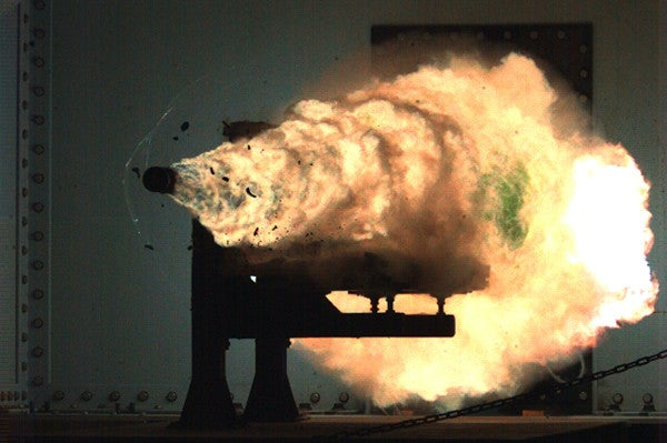 The Navy's $500 million effort to develop a futuristic railgun is going nowhere fast